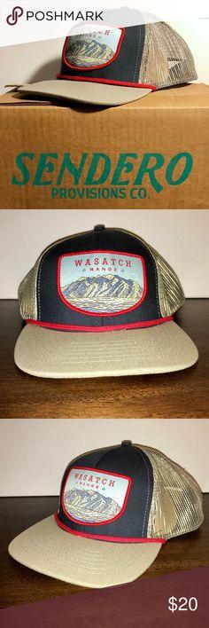 d34075b2331 Sendero Provisions Company Baseball Cap Hat Sendero Provisions Co. Wasatch  Mountain Range