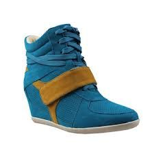 . Ankle Sneakers, Wedge Sneakers, Lacoste, Wedges, Shoes, Products, Fashion, Moda, Zapatos
