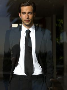 Zachary Levi. Because he's a sexy nerd. And who doesn't love that?