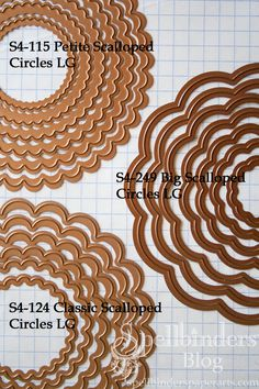 Differences Between Spellbinders Scalloped Die Templates