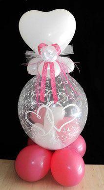 Ballon Luftballon Geldballon Ballongeschenk Geschenk Hochzeit Hochzeitsherzen He Wedding Gifts Christmas Bulbs Wedding Favors