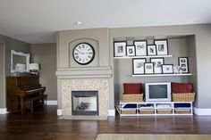 Living Room / Dining Room. eclectic living room
