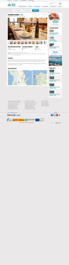 Desarrollamos la campaña online del segmento Turismo Mariñeiro de Galicia. Es un proyecto sin precedentes realizado en tiempo límite que aúna por primera vez toda la oferta turísitca del destino mariñerio de la Costa Gallega. En él se desarrolla un Sistema de Reservas que permite contratar en tiempo real Casas rurales, Hoteles, Albergues, apartmanetos Vacacionales, además de información completa de cada muncicipio y las áreas marítimas que componene este segmento.