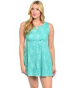 TOPSELLER! 2LUV Plus Women's Empire Waist Dresse... $18.99