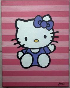 Hello Kitty on 11x14 canvas.   http://www.facebook.com/pages/CreativeOnCanvas/512973275382154?id=512973275382154=photos_stream