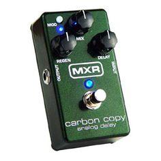 MXR 'Carbon Copy' Analog Delay Pedal