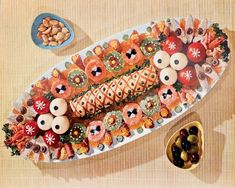 The eye eats with: 51 creative ideas for cold plates – house decoration more - Anrichten German Salads, Party Buffet, Snacks Für Party, Food Decoration, Food Design, Best Part Of Me, Finger Foods, Food Art, Food And Drink