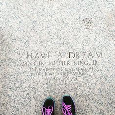standing on history #ihaveadream #mlk @ihavethisthingwithfloors by katrinaf0x #WhiteHouse #USA