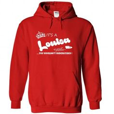 Its a Louisa Thing, You Wouldnt Understand !! Name, Hoo - #diy gift #gift for mom. LOWEST SHIPPING => https://www.sunfrog.com/Names/Its-a-Louisa-Thing-You-Wouldnt-Understand-Name-Hoodie-t-shirt-hoodies-1578-Red-29435447-Hoodie.html?68278