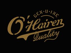O'Hairen Quality Approved #drinkthesunshine