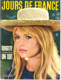 Brigitte Bardot - Jours de France n°347, 8 juillet 1961
