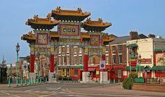 Chinatown - Liverpool, Merseyside