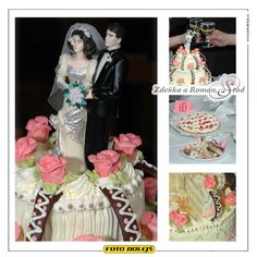 Zdreňka a Roman, svatební dort