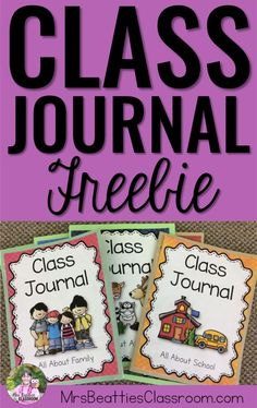 Get your students excited about daily writing with class journals! These FREE covers give your students choice in writing about the things that matter in their lives!