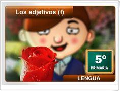 """""""Los adjetivos (I)"""" (Aplicación interactiva de Lengua Española de Primaria)"""