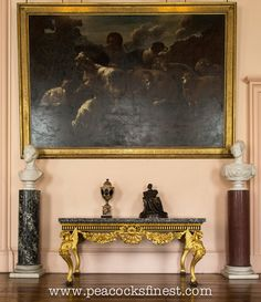 Castle Howard: George II Giltwood Console Table