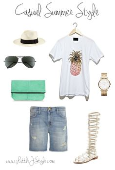 Summer Style Inspiration- www.LittleJStyle.com