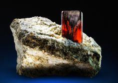 Brookite - Zard Mts., Kharan, Balochistan, Pakistan Size: 5.5 x 4.4 x 4.2 cm