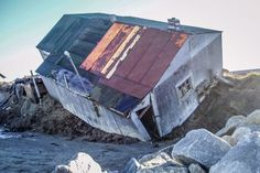 Shishmaref, Alaska, a village eroding due to climate change, asks for Congressional action | Alaska Dispatch