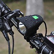 Φακοί+Κεφαλιού+Φώτα+Ποδηλάτου+LED+Cree+XM-L+T6+Ποδηλασία+Ανθεκτικό+στα+Χτυπήματα+Αδιάβροχη+800+Lumens+USB+–+USD+$+45.98