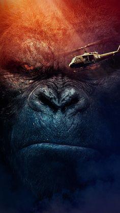 Kong Skull Island Movies, King Kong Skull Island, Gorilla Wallpaper, Animal Wallpaper, Red Riding Hood 2011, King Kong Vs Godzilla, Gorilla Tattoo, All Godzilla Monsters, Creation Art