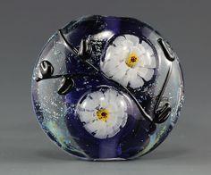 handmade lampwork focal bead by ikuyo sra by on etsy