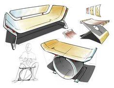 Design Furniture Sketches Inspiration Design Furniture Sketches Inspiration is a part of our furniture design inspiration series. Design Logo, Web Design, Design Poster, Sketch Design, Design Furniture, Plywood Furniture, Chair Design, Furniture Sketches, Smart Furniture