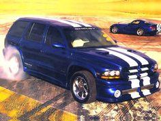 1999 Dodge Durango Shelby SP 360 Viper Blue
