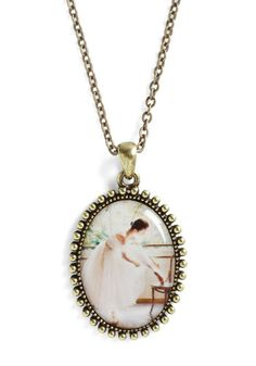@Kari Smith  or this one? To the Pointe Necklace - Multi, Gold, French / Victorian, Pastel, Top Rated