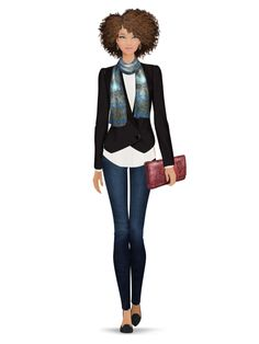 Styled with: Rachel Zoe, Black Orchid, Rebecca Minkoff, Cashhimi, Caviar and Cashmere   Create your own look with Covet Fashion