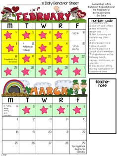Motivating Students With Behavior Calendars and Coupons