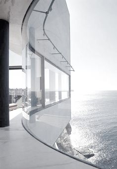 Amazing architecture #white #waterview