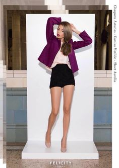 I. Outfit formal con short