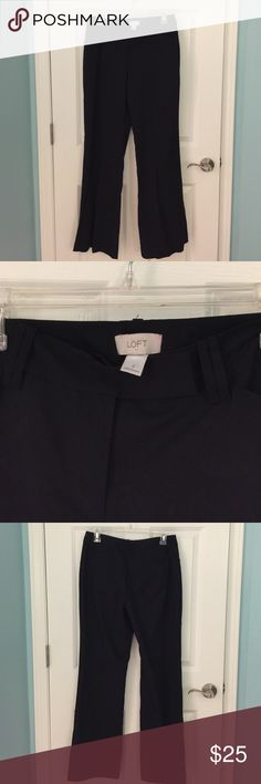 Size 4 LOFT dress pants Never worn but no tag. Size 4. LOFT. Nice quality! LOFT Pants Boot Cut & Flare