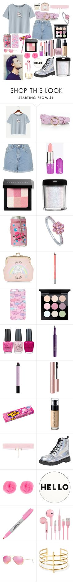 """""""Untitled #209"""" by isobelle206 ❤ liked on Polyvore featuring WithChic, Talbots, Topshop, Lime Crime, Bobbi Brown Cosmetics, Skinnydip, BERRICLE, New Look, Urban Decay and MAC Cosmetics"""