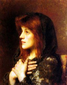 art-is-art-is-art:  Contemplation, Alexei Harlamov - http://wp.me/p6qjkV-mjO  #Art