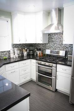 Small Kitchen Design Pictures Remodel Decor And Ideas Page 135 Dream Small Kitchens Pinterest Stove Design And Small Kitchens