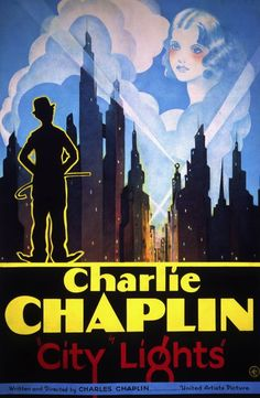 Poster for Charlie Chaplin's City Lights