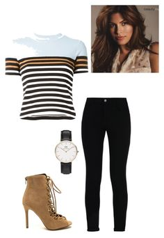 """""""Untitled #108"""" by yasminabuwi on Polyvore featuring STELLA McCARTNEY, Daniel Wellington and T By Alexander Wang"""