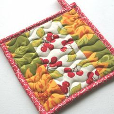 practice free form quilting...on something small like this.