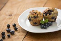 Paleo Blueberry Muffins (includes 2 muffins)