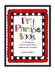 Fluency Books for Assessment Word Reading, Reading Record, Reading Fluency, Reading Passages, Teaching Reading, Guided Reading, Teaching Ideas, Fry Words, Fry Sight Words
