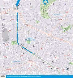 paris metro map ParisCentral Grab Your Passport Pinterest