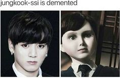 No!!! Don't say that i watched that movie n im haunted for lyf!! He my kookie!!!