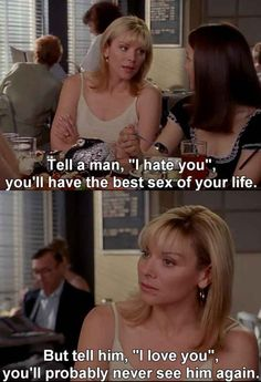 "Community Post: 80 Of Samantha Jones' Best Moments On ""Sex And The City"""