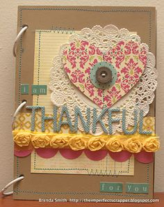 """""""I Am Thankful"""" Mini Album by Brenda Smith"""