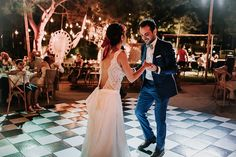 ohemian, earthy and colourful; just a few words to describe today's incredible Cypriot Real Wedding. Living in London, Cyprus-born Stella and Stelios knew that… Festival Wedding, First Dance, Real Weddings, Brides, Celebration, Bohemian, Vibrant, The Incredibles, Wedding Dresses