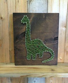 Dinosaur String Art  String Art  Dinosaur Decor  Dino by UrbanHoot