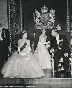 Royal Visit to Malta - Young Queen Elizabeth