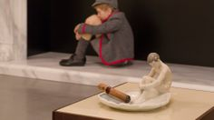 Elmgreen & Dragset's 'Tomorrow,' at Victoria & Albert Museum